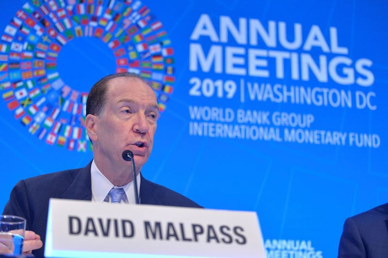 FILE PHOTO: IMF and World Bank hold Fall Meetings in Washington
