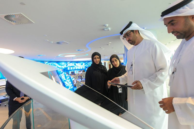 Sultan Ahmed Al Jaber, UAE Minister of State and the Abu Dhabi National Oil Company (ADNOC)