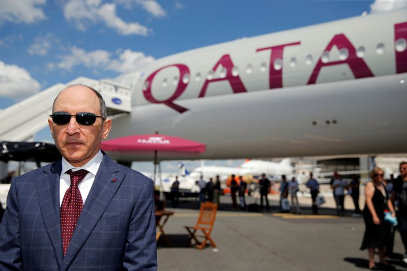 FILE PHOTO: Qatar Airways Chief Executive Officer Akbar Al Baker is seen during the 53rd