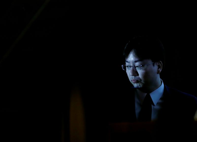 Nintendo President Shuntaro Furukawa attends a news conference in Tokyo