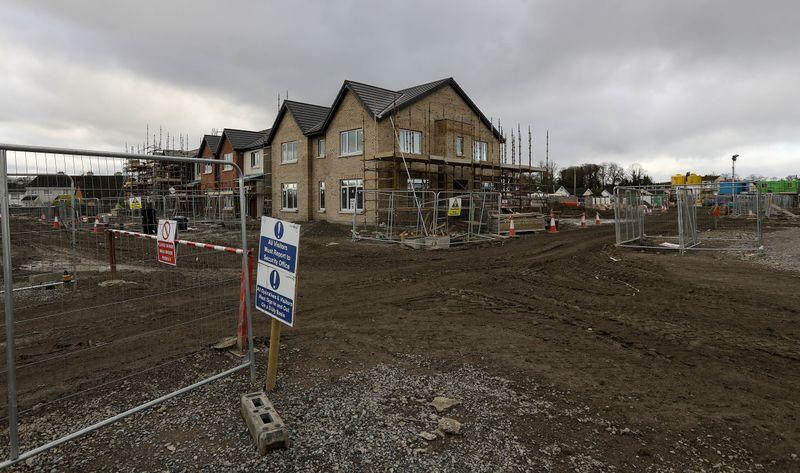 A new development under construction on Dominick Street Lower in Dublin