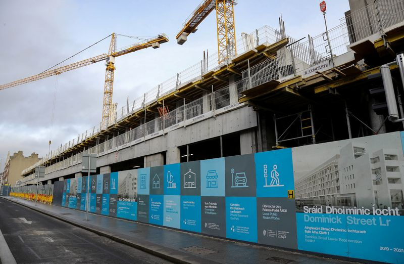 A new housing development in Straffan, County Kildare
