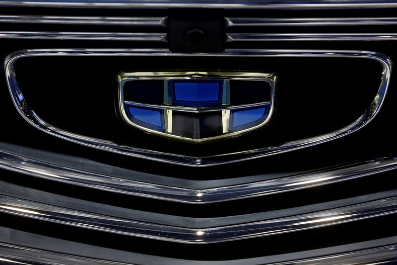 FILE PHOTO: Logo of Swedish automobile manufacturer Volvo is seen at Stierli Automobile AG
