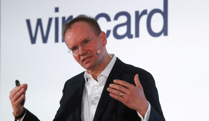 FILE PHOTO: Wirecard CEO Markus Braun speaks at the company's 2019 annual news conference in