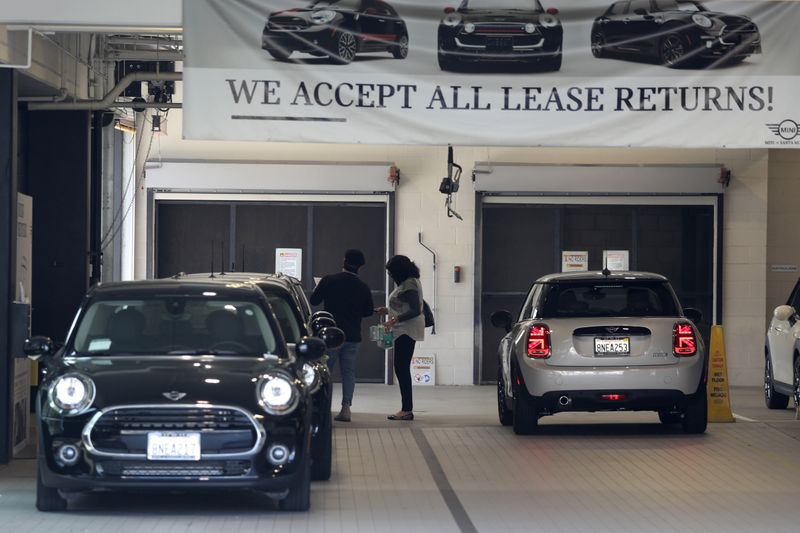 A newly-reopened Mini dealership is seen, as the global outbreak of the coronavirus disease