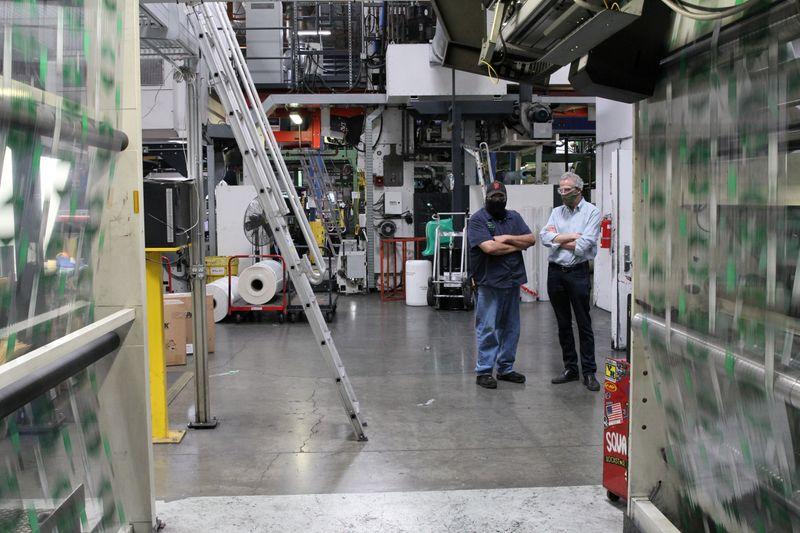 Coronavirus brings boom and burden to California packaging supplier