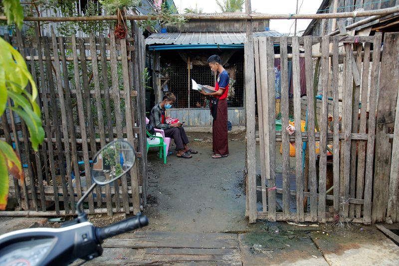 The spread of the coronavirus disease (COVID-19) in Yangon