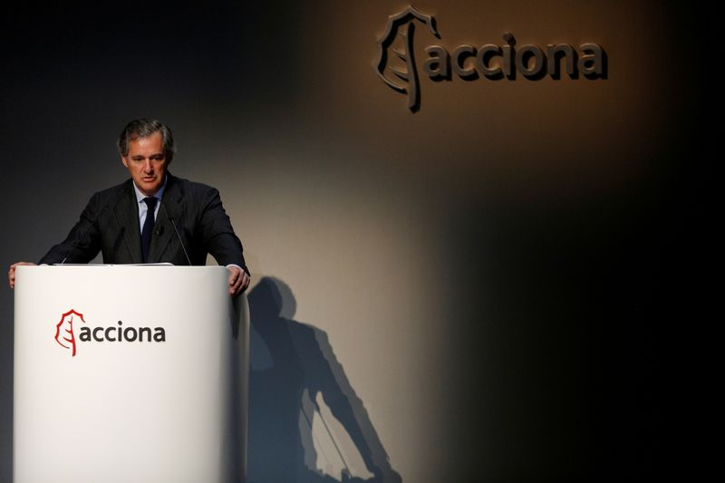 FILE PHOTO: Entrecanales, chairman of Spanish energy, construction and services conglomerate
