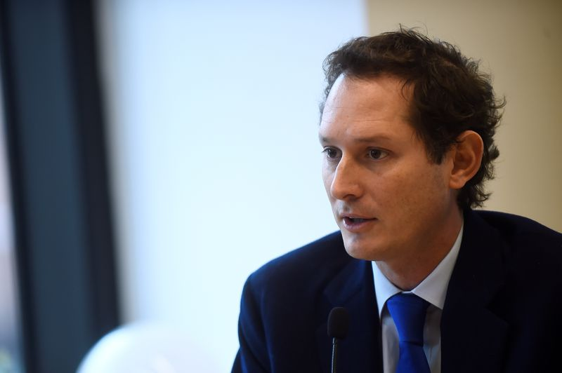 FILE PHOTO: Fiat Chairman Elkann attends investor day held by holding group in Turin