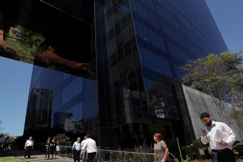 FILE PHOTO: BTG Pactual bank headquarters is pictured in Sao Paulo