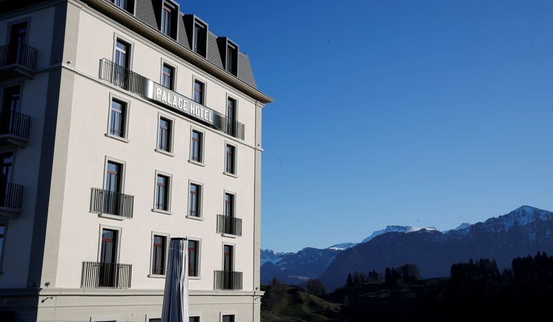 FILE PHOTO: Palace Hotel is seen at Buergenstock Hotels & Resort on Buergenstock