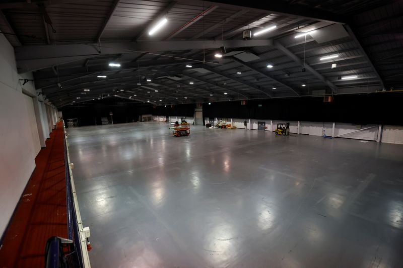 Telford International Centre, an events venue in central England, has stood largely empty since