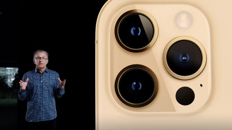 Apple's vice president of iPhone Product Marketing Kaiann Drance unveils the all-new iPhone