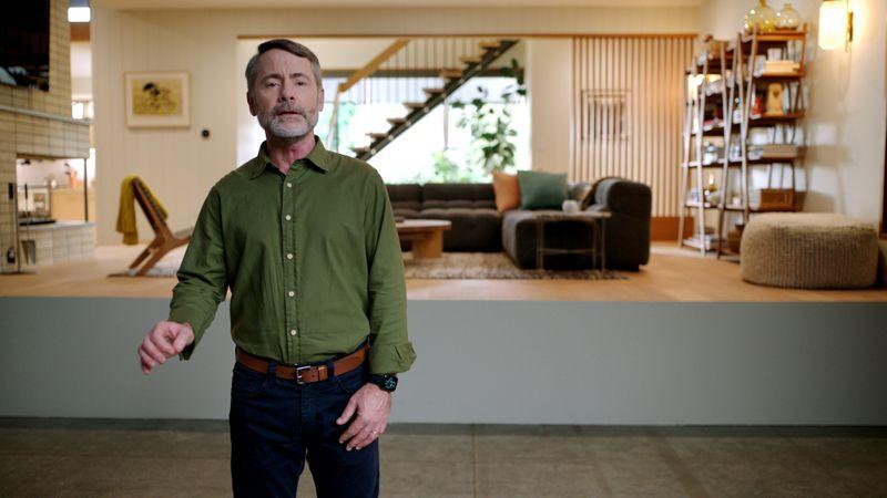 Apple's Yael Garten talks about the intelligence of Siri on HomePod mini in Cupertino
