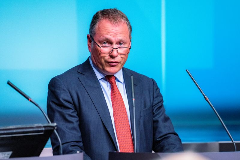 Nicolai Tangen, appointed as the new CEO of the Norges Bank Investment Management attends a