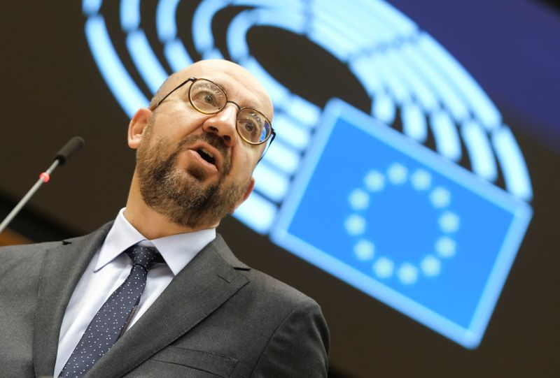 EU Commission, EU Council representatives speak to EU lawmakers on Brexit
