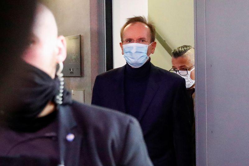 Former Wirecard CEO arrives to testify before German parliamentary committee in Berlin