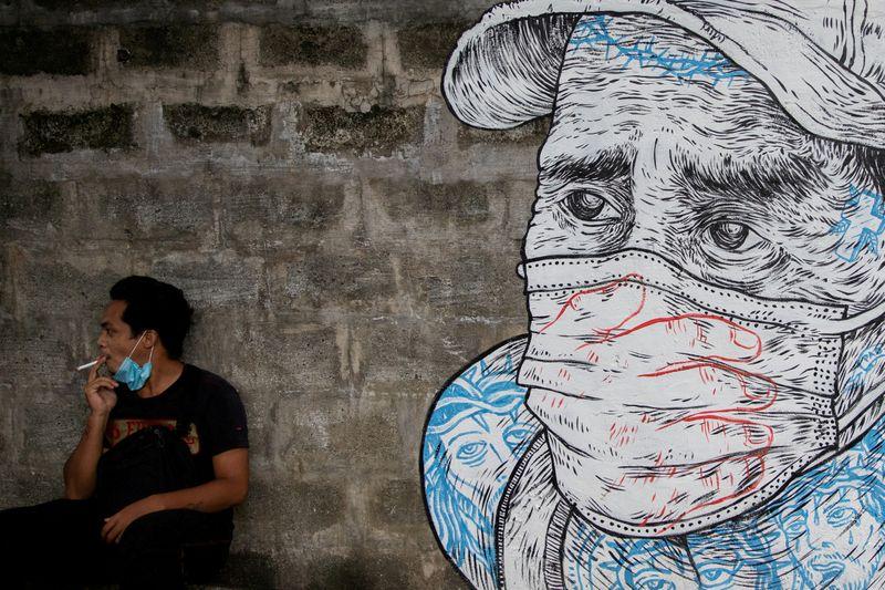 FILE PHOTO: Coronavirus disease (COVID-19) outbreak in the Philippines