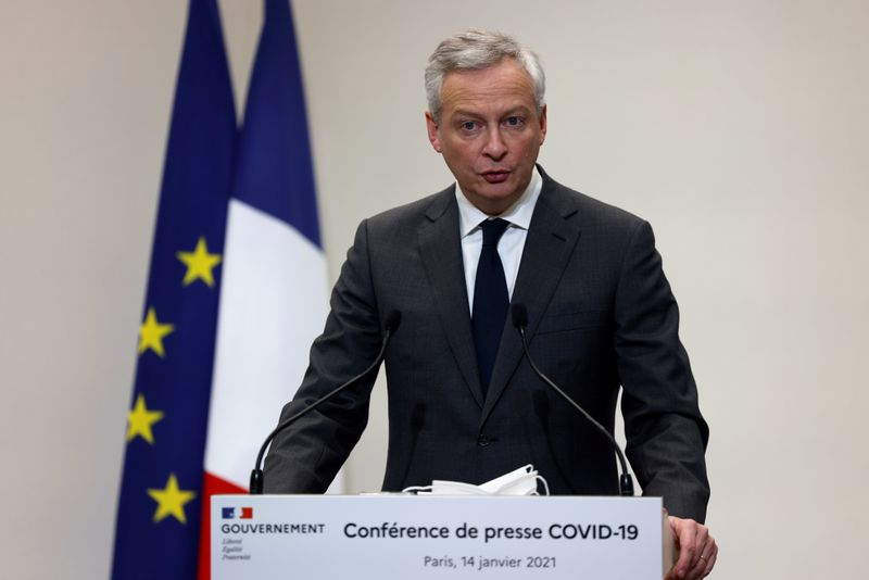 FILE PHOTO: French Prime Minister Jean Castex holds a press conference in Paris
