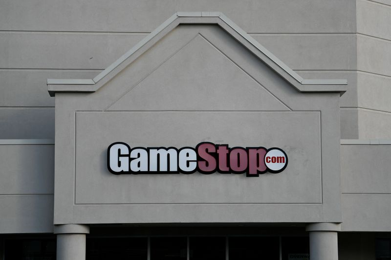 FILE PHOTO: A GameStop store is photographed in Austin, Texas