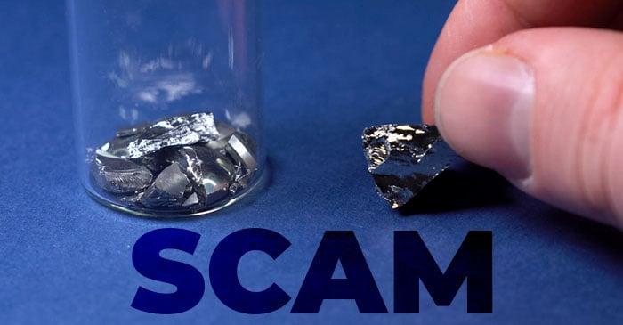 The Rare Earth Metal Scams